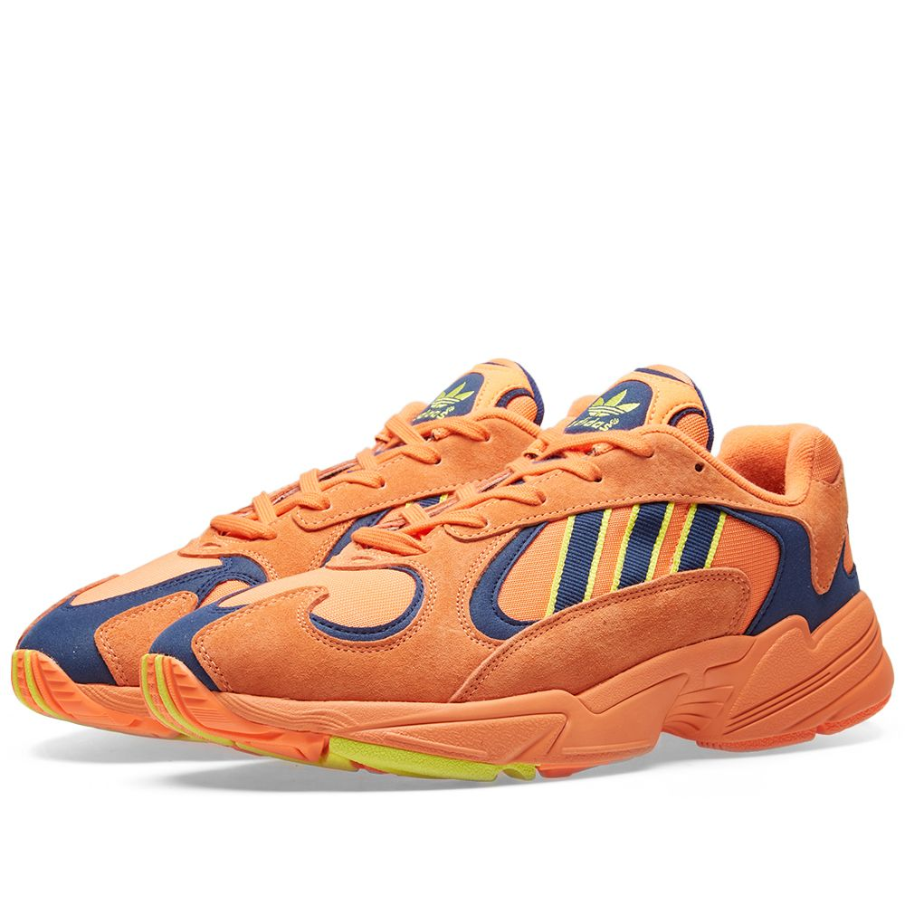 adf95aa6c57 Adidas Yung 1 Hi-Res Orange   Shock Yellow