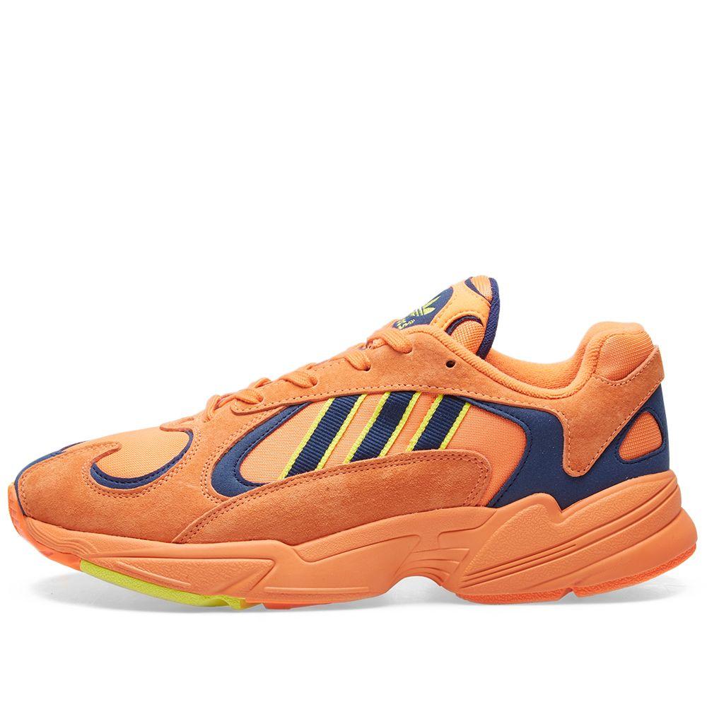 ba852ae44e0 Adidas Yung 1 Hi-Res Orange   Shock Yellow