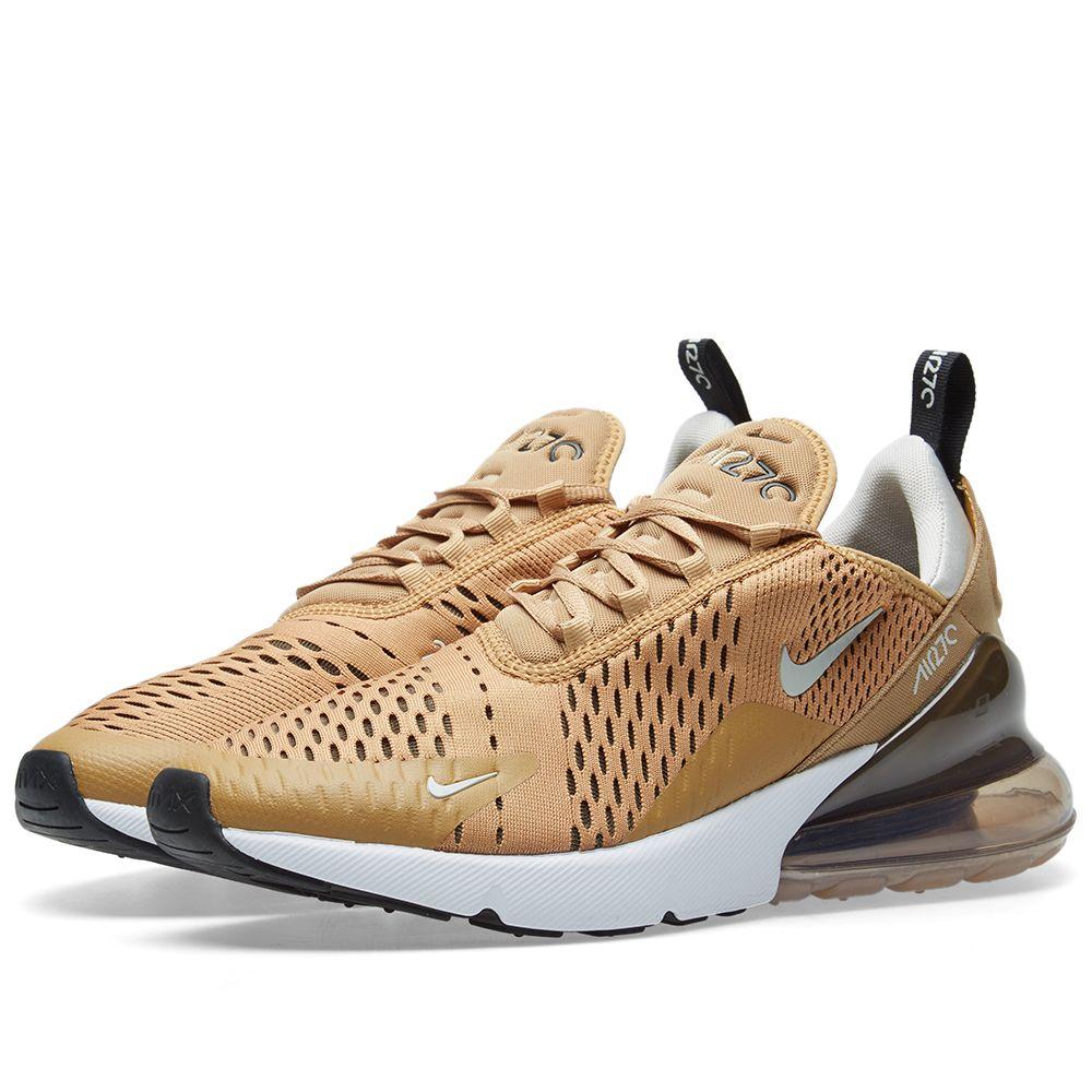new product f1ace 7fdf2 Nike Air Max 270 Elemental Gold, Black  Bone  END.