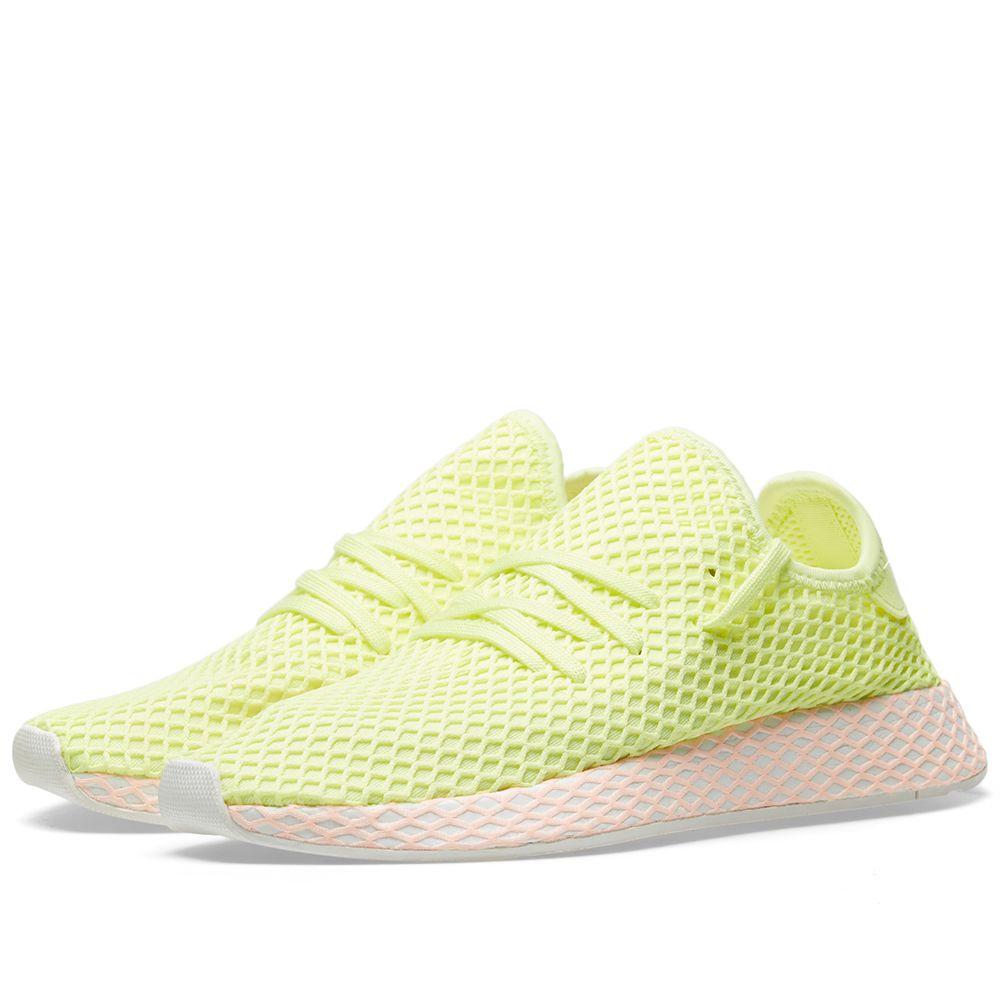 free shipping 43e3c b345f Adidas Deerupt W Glow  Clear Lilac  END.