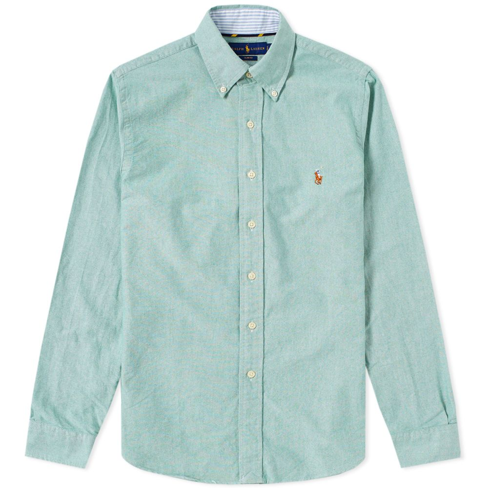 bfd46ab928b homePolo Ralph Lauren Slim Fit Button Down Oxford Shirt. image. image.  image. image. image. image. image. image