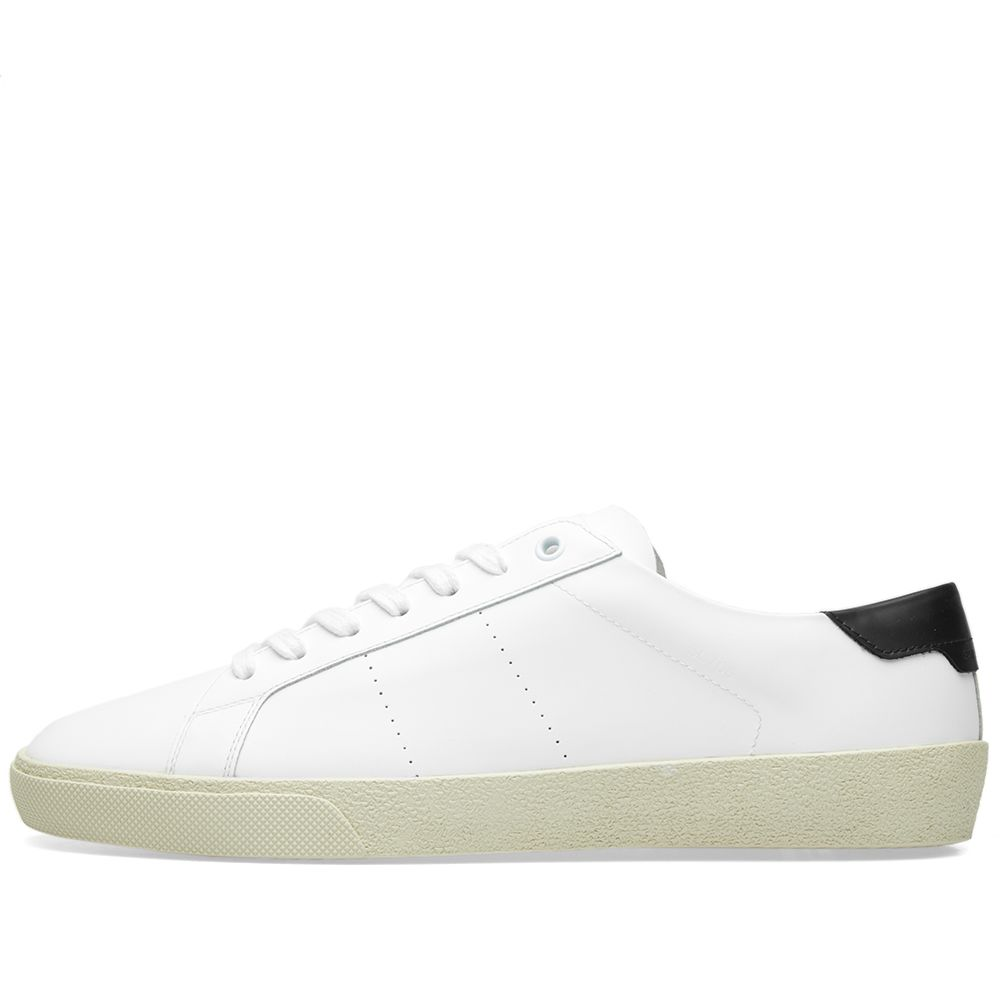 d1c94ccb30bea Saint Laurent SL-06 Sneaker White   Black