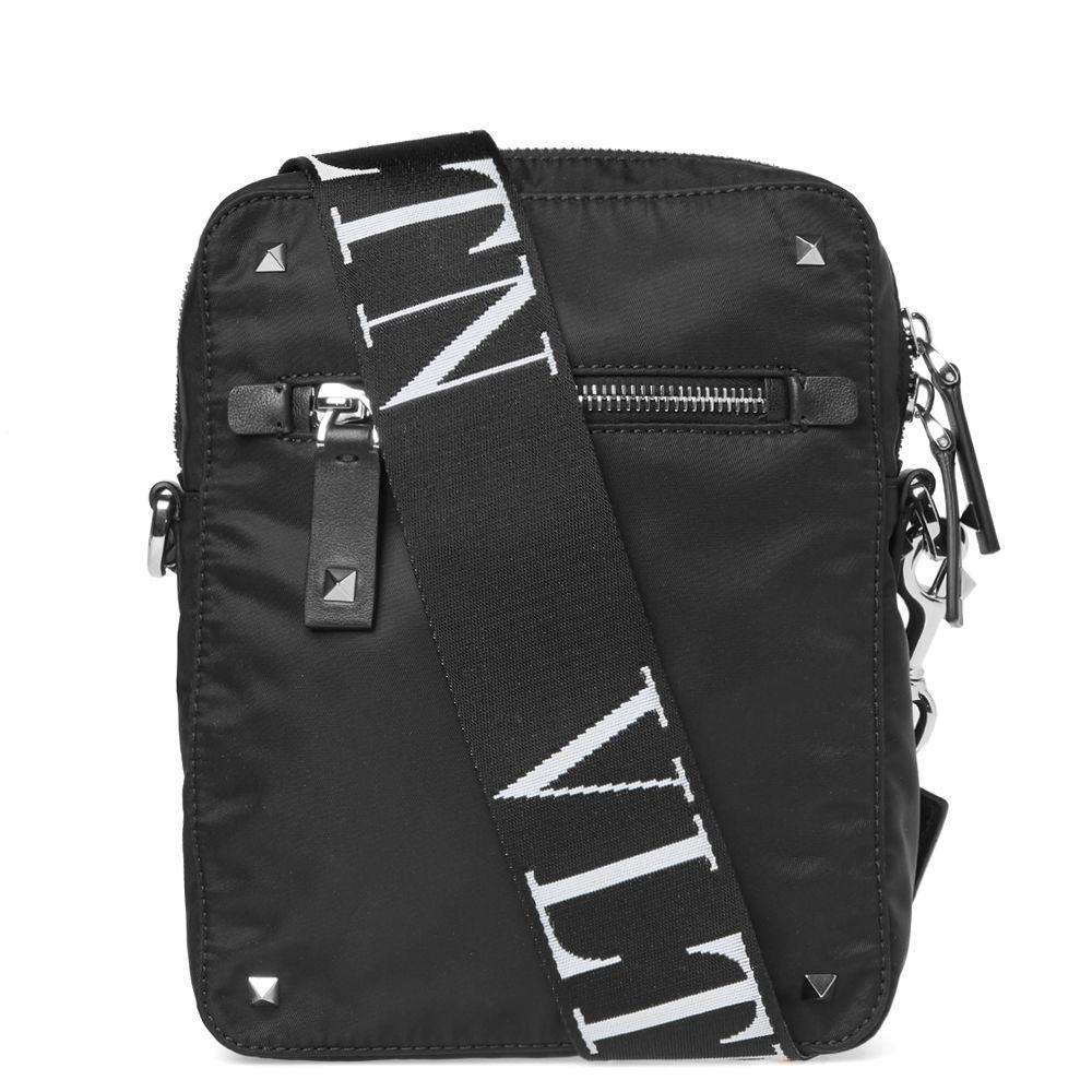 907102245023c Valentino VLTN Cross Body Bag Black   END.