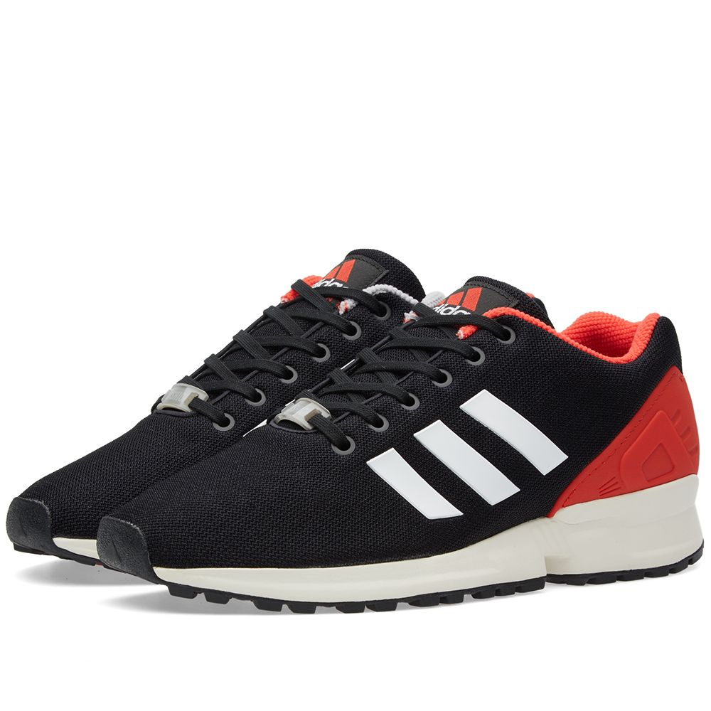 on sale fce14 ae7db Adidas ZX Flux EQT. Black, White   Red