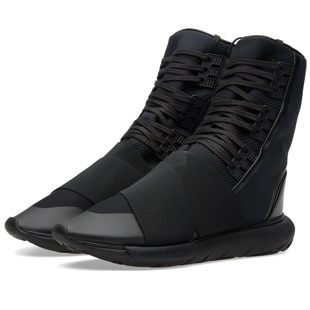 21fa84ef0faf9 Y-3 Qasa Boot Core Black