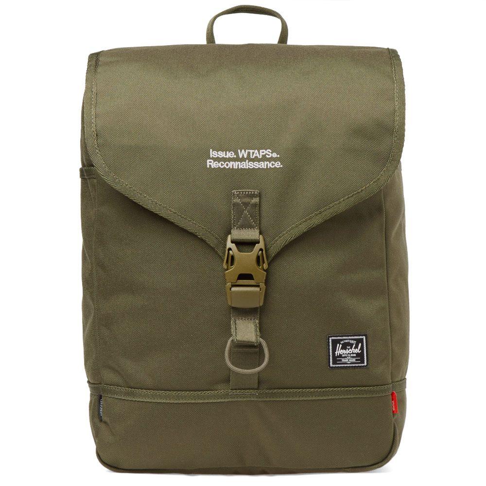 64505e9b51c Herschel x WTAPS Backpack Ranger Green