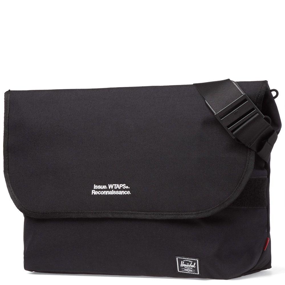 d1411f0c6a5 Herschel x WTAPS Shoulder Bag Black