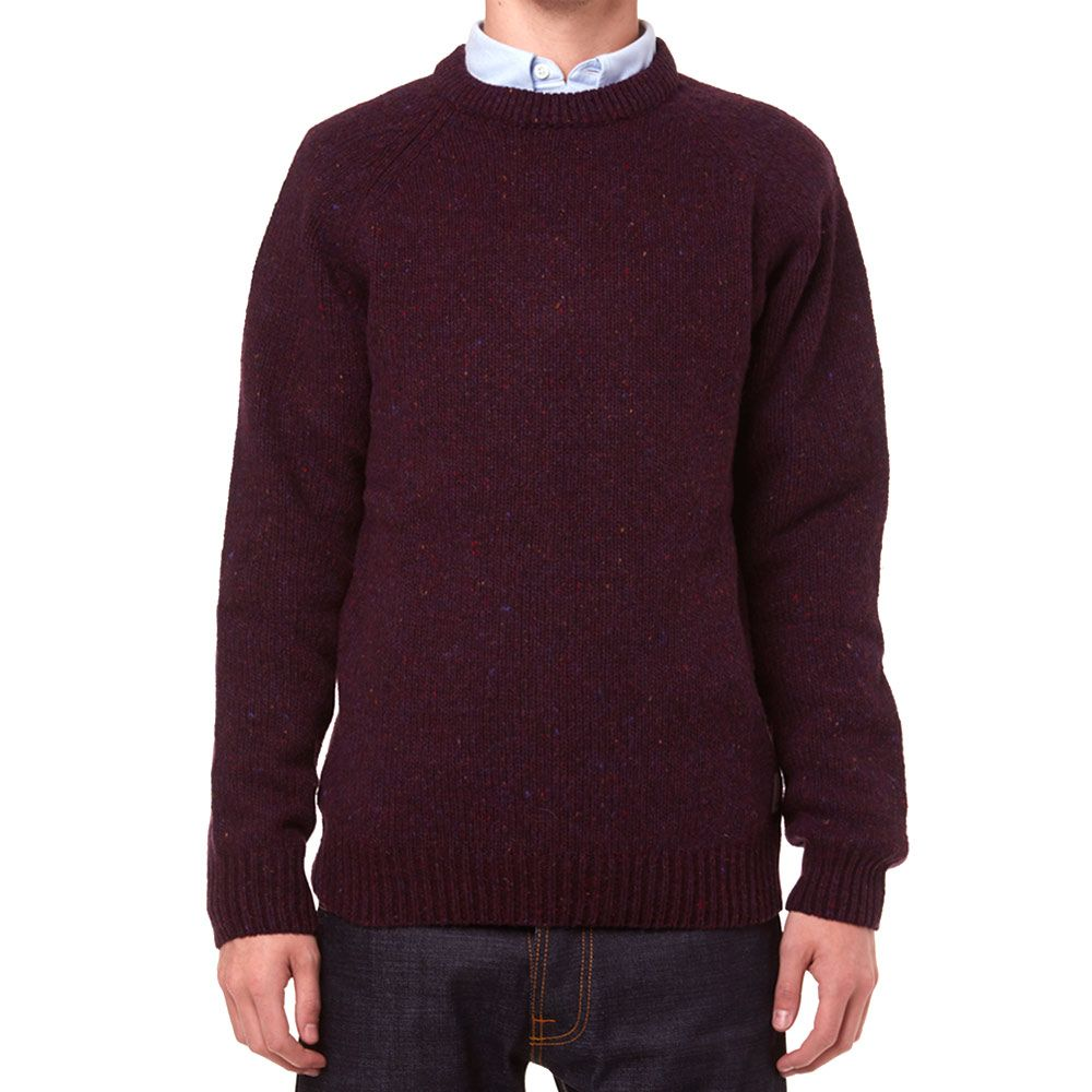 81b7d0b6a3331 Carhartt Anglistic Sweater. Burnt Umber Heather. CA 129 CA 59. Plus Free  Shipping. image. image. image. image. image
