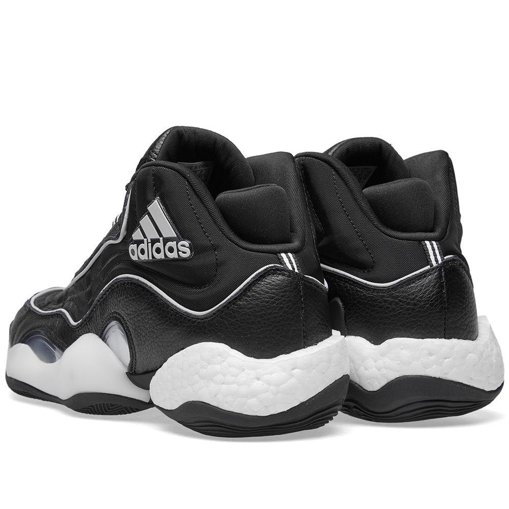 954b350808d4 Adidas 98xCRAZYBYW Core Black   Grey Two