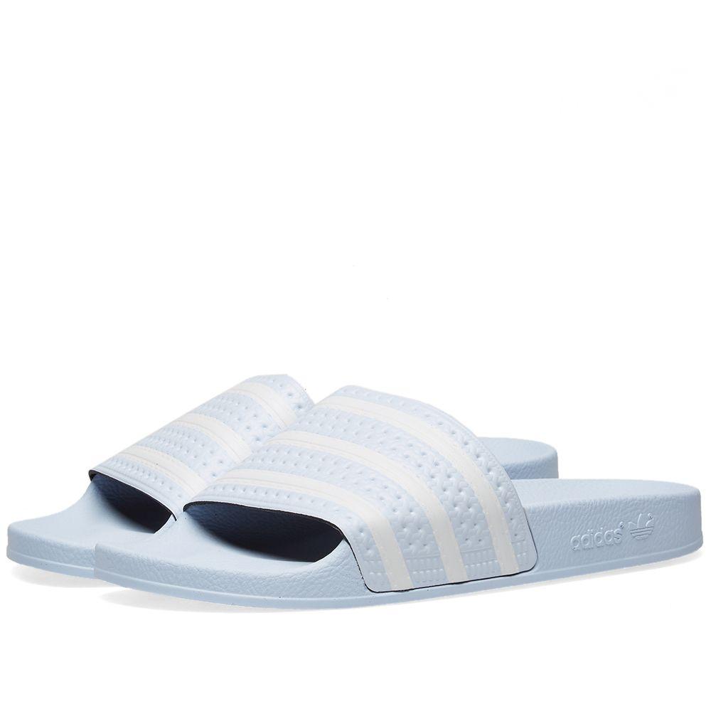 Adidas Adilette. Aero Blue. AU 55. image fd6887d0f