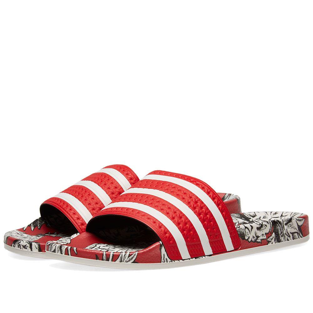 00faee47db6aa Adidas Adilette W Scarlet   Off White