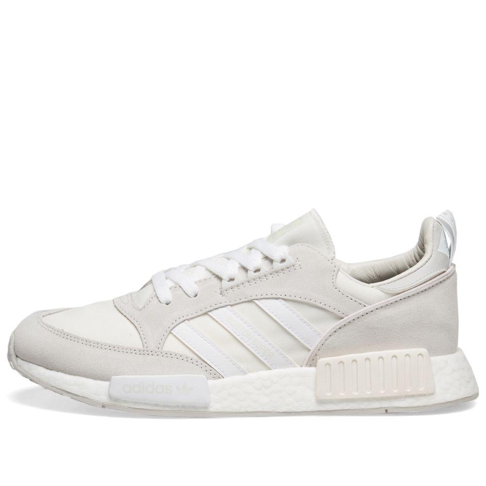 Adidas Boston Super x R1 Cloud White  957f82676