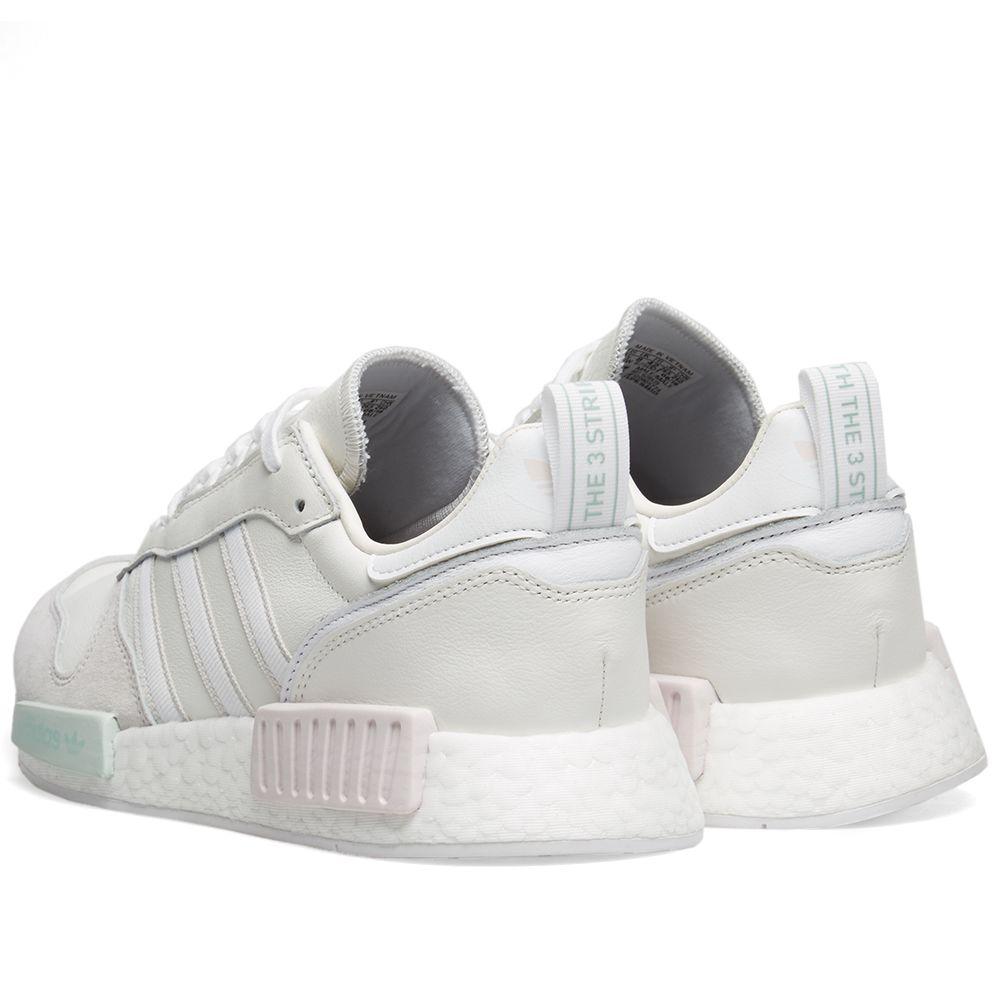 ba33a850868758 Adidas Rising Star x R1 Cloud White