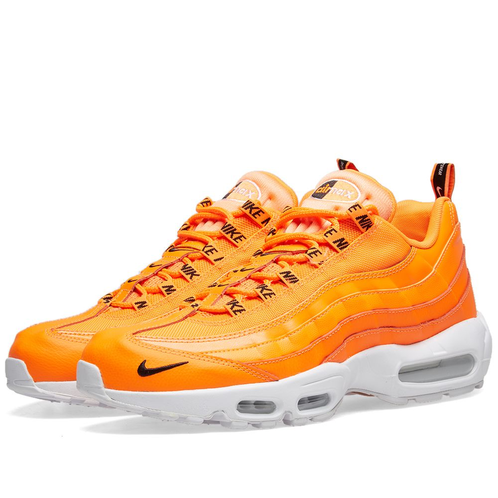 7d79d97268f4c5 Nike Air Max 95 Premium Total Orange