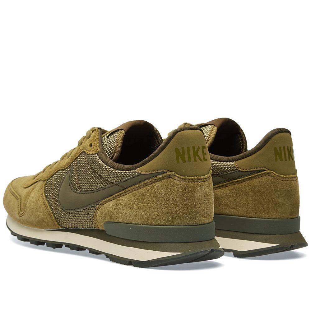 buy popular d1ff6 638cd Nike Internationalist Premium Olive Flak & Dark Loden | END.