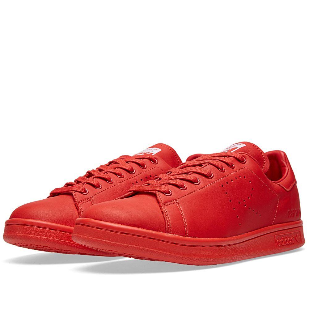 b9ad76646857 Adidas x Raf Simons Stan Smith Red   White