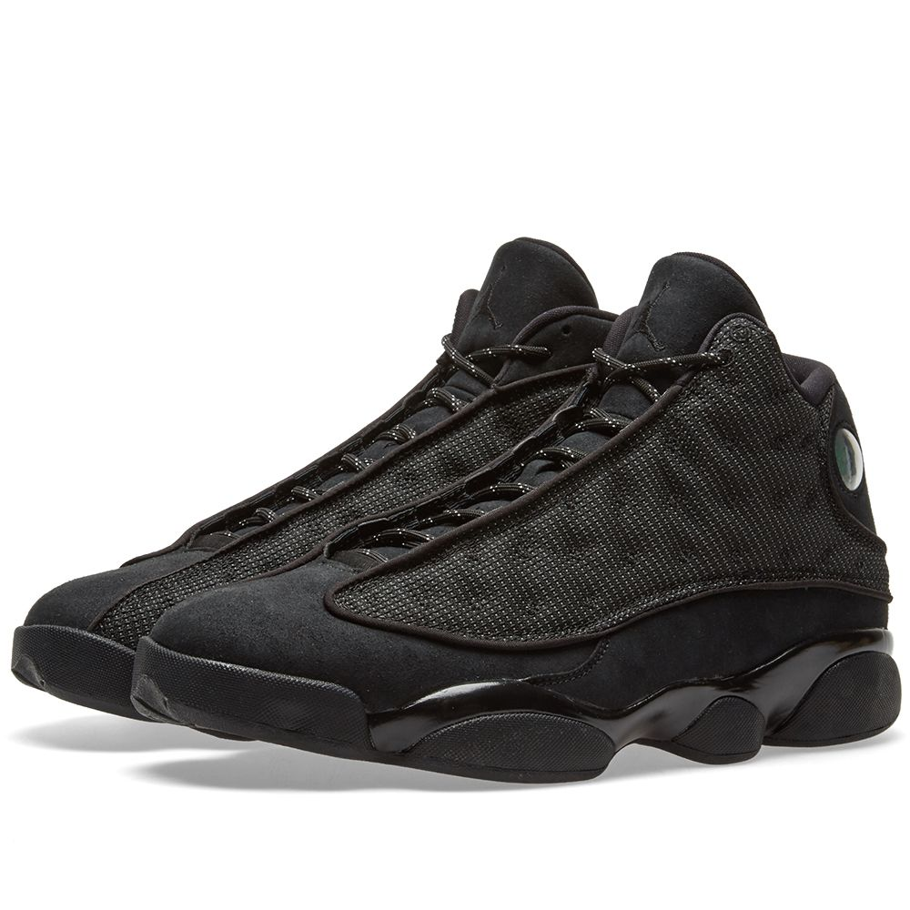 1e6d152efa12 Nike Air Jordan 13 Retro Black   Anthracite