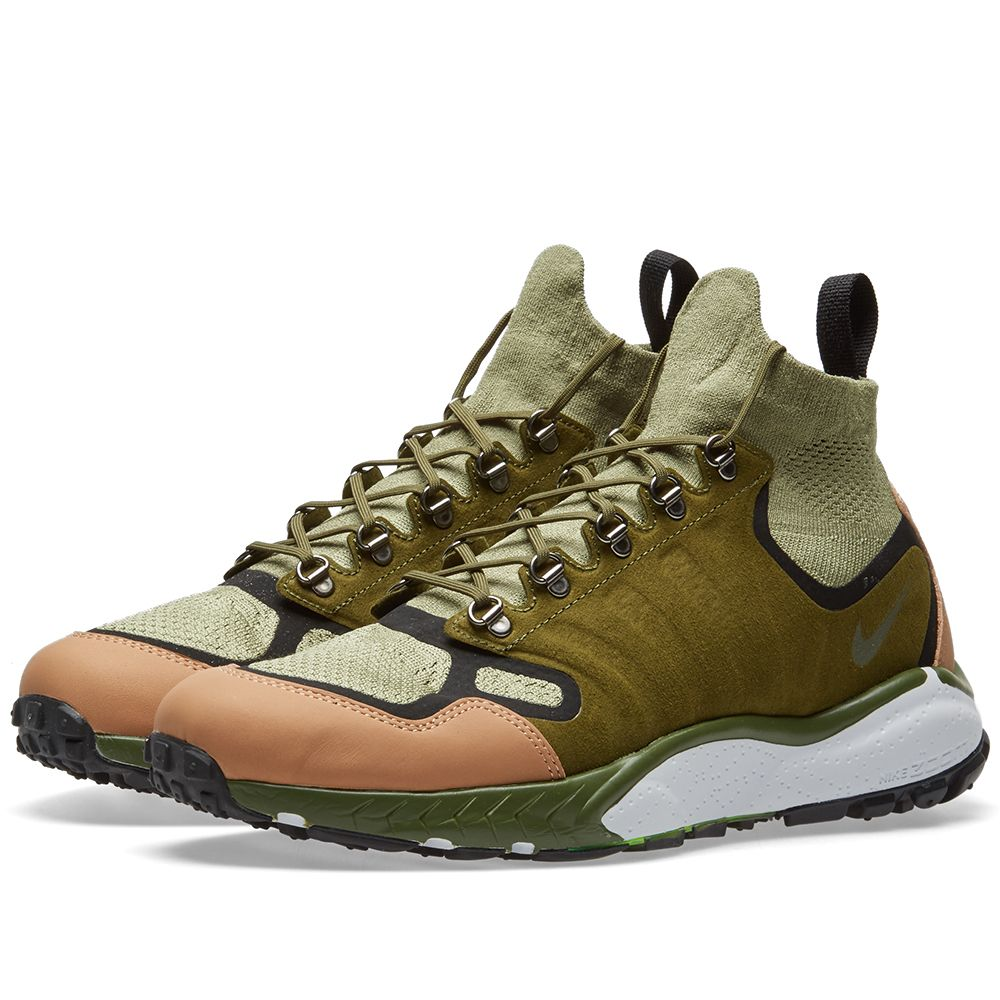 3e310f9c38dd Nike Air Zoom Talaria Mid Flyknit Premium. Palm Green   Vachetta Tan.  CA 225 CA 85. image