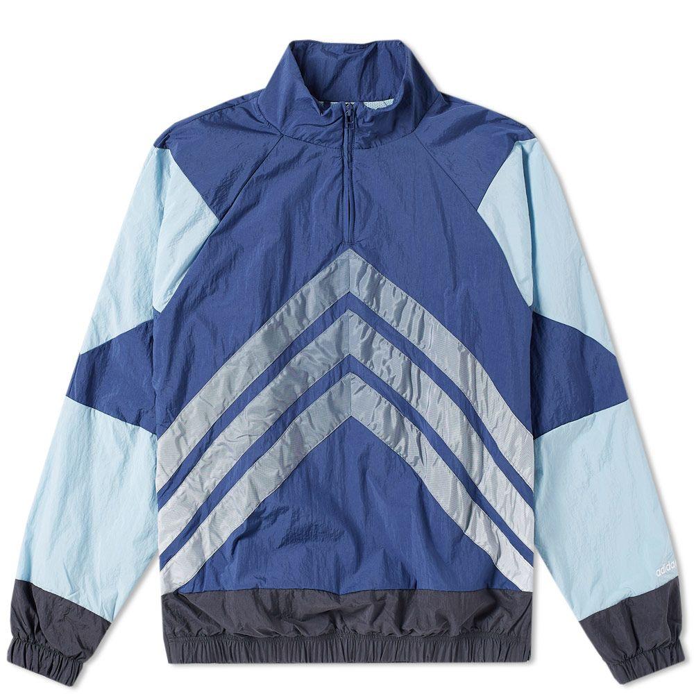 finest selection e3af9 8a5d3 Adidas V Stripes Windbreaker Carbon   Ash Grey   END.