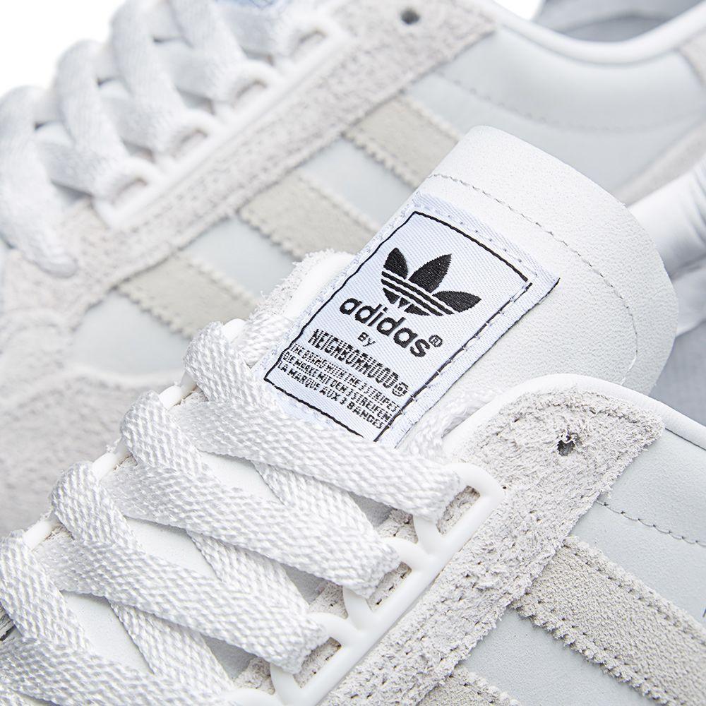 18e255401 Adidas x Neighborhood ZX 500 OG Neo White   Grey