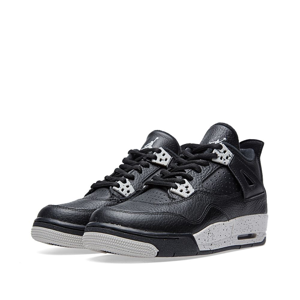 info for 0c995 42888 Nike Air Jordan IV Retro BG  Oreo . Black   Tech Grey. £87. image