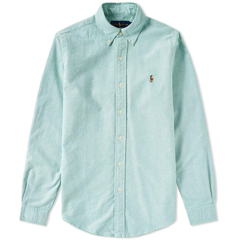 23c691cab71e homePolo Ralph Lauren Slim Fit Button Down Oxford Shirt. image. image.  image. image. image. image. image. image