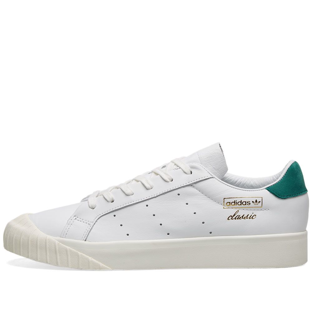 339a7ad6e663a4 Adidas Everyn W White   Colllegiate Green