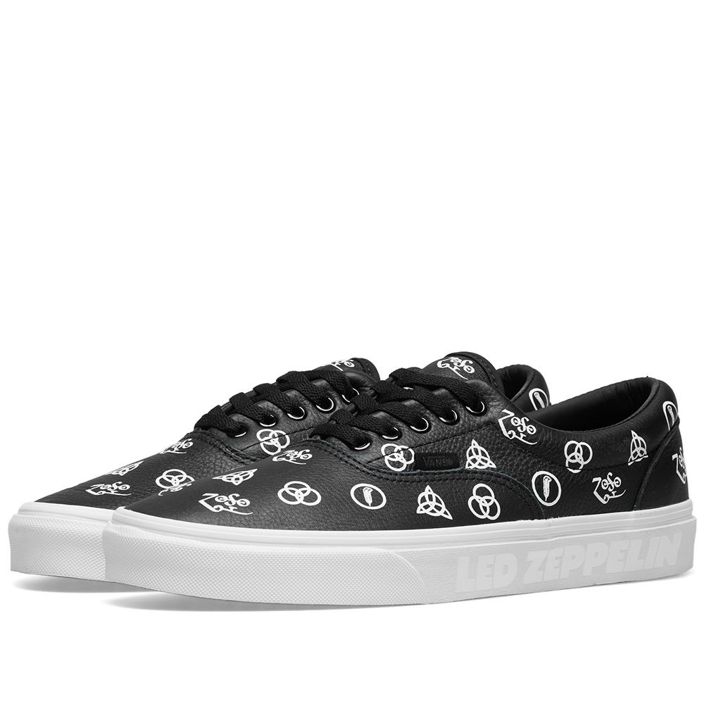 2116fa634b0 Vans x Led Zeppelin Era Black   True White