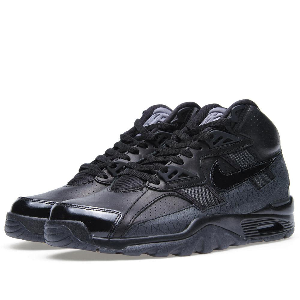 new products 72218 c737c Nike Air Trainer SC High QS Black  END.