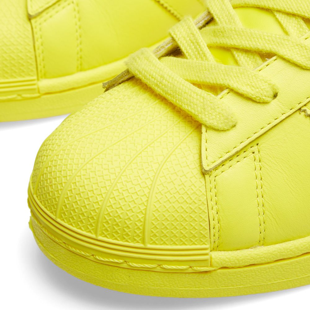 087fb12aada6e Adidas x Pharrell Superstar  Supercolour  Bright Yellow