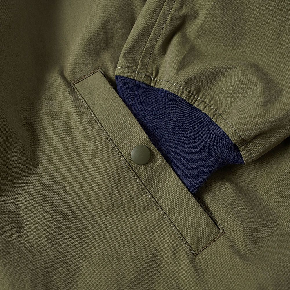 0bdbf93deb9 Comme des Garcons Homme Weather Cloth Bomber Jacket Khaki