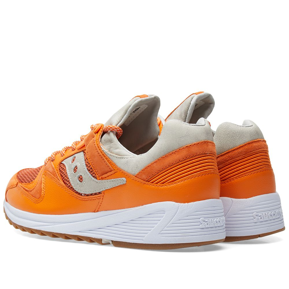 d8628e291eae END. x Saucony Grid 8500  Lobster  Orange