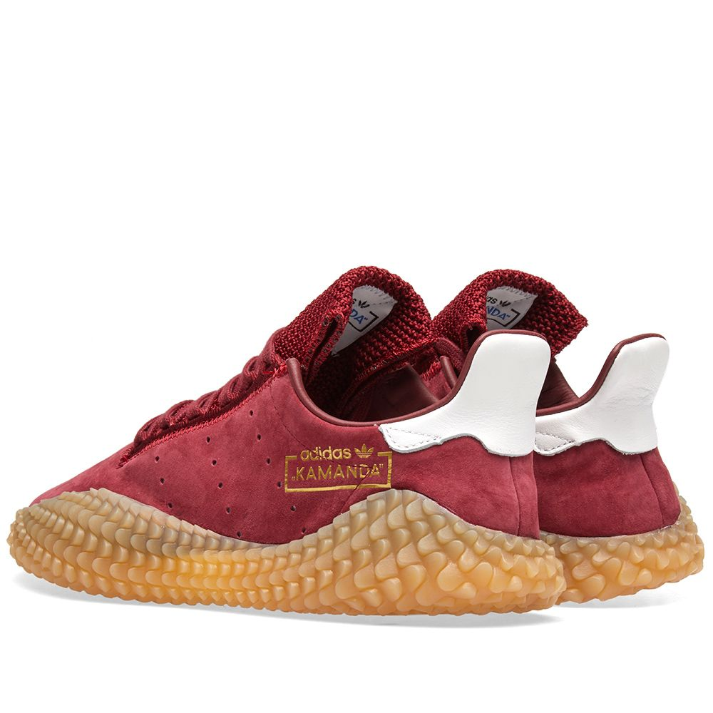 sneakers for cheap aaeb4 d9831 Adidas Kamanda Collegiate Burgundy  Gum  END.