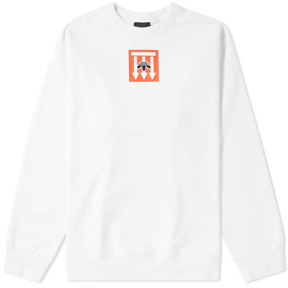 Adidas Originals by Alexander Wang Graphic Crew Sweat