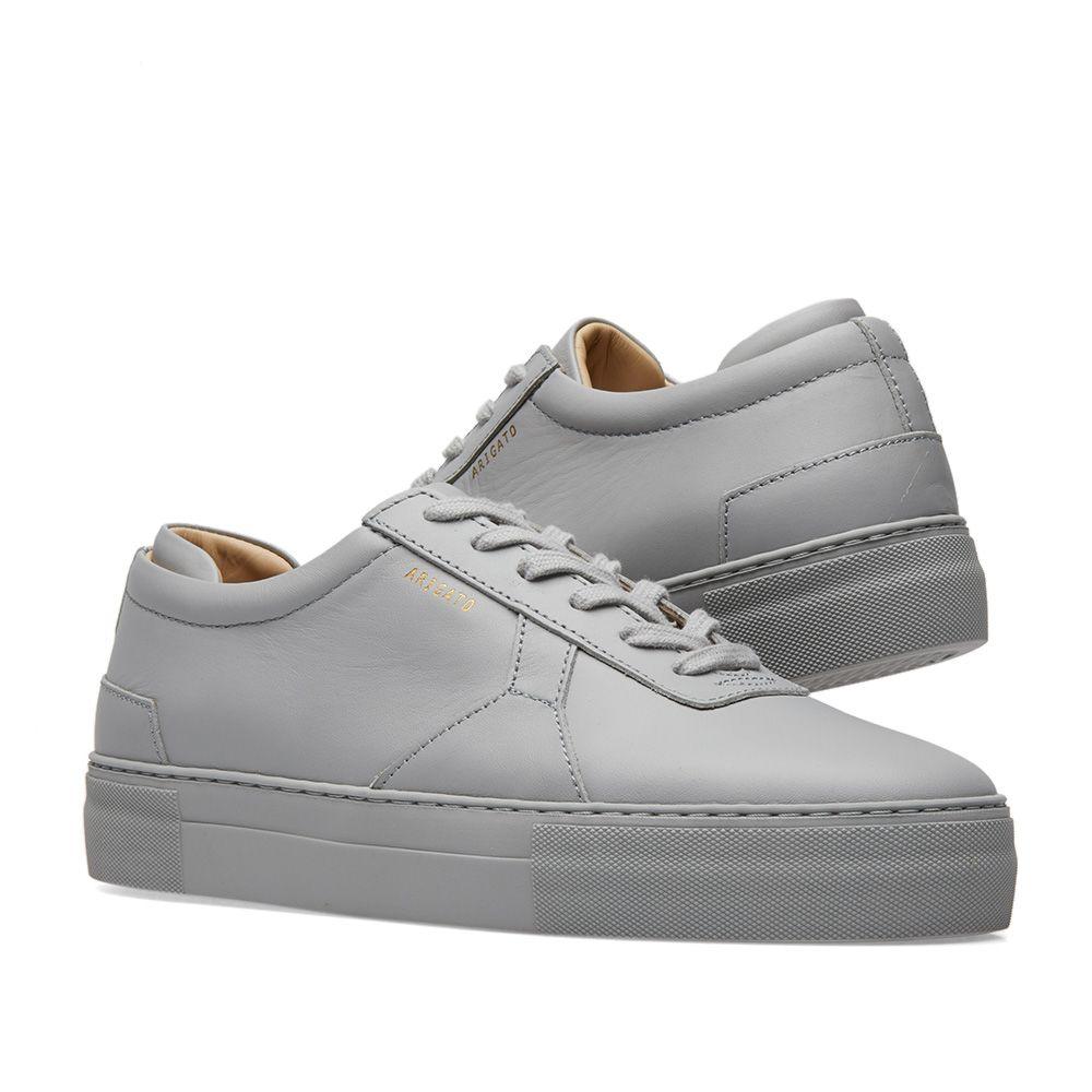 ab0eb71e6b2 Axel Arigato Platform Sneaker Light Grey Leather