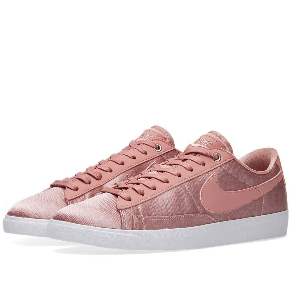 more photos 925da b6307 Nike Blazer Low SE W Rust Pink  White  END.