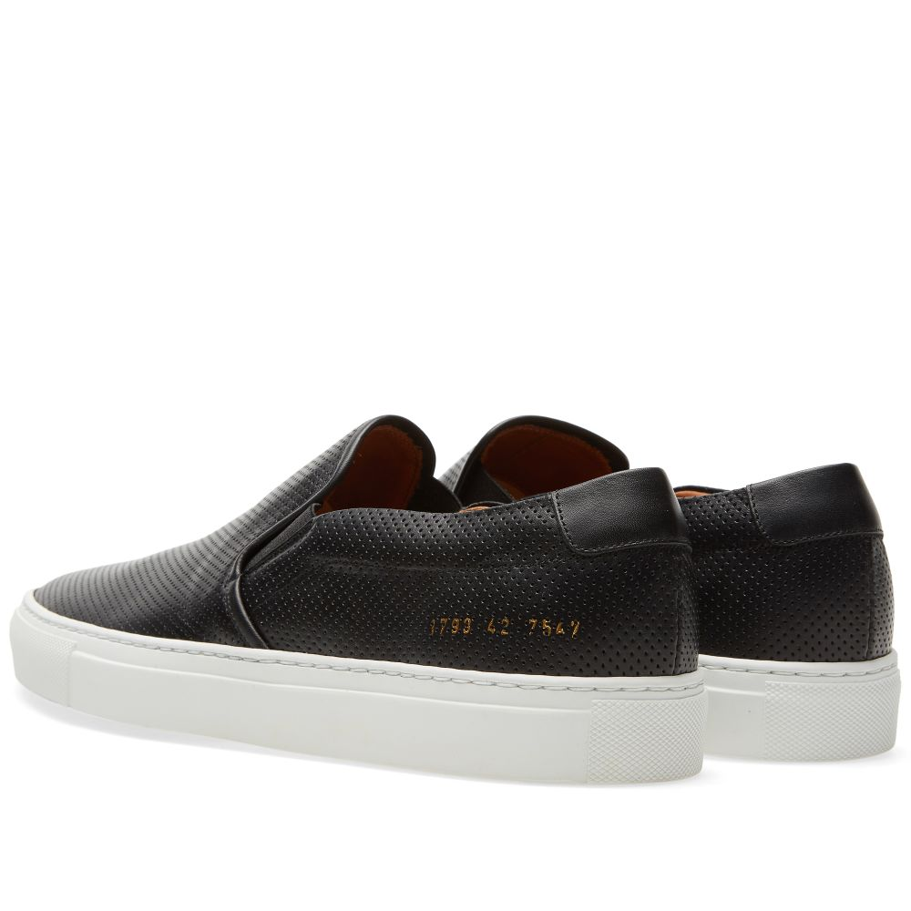 ccd9b08dd8380 Common Projects Perforated Nappa Slip On. Black. CA 435 CA 279. Plus Free  Shipping. image