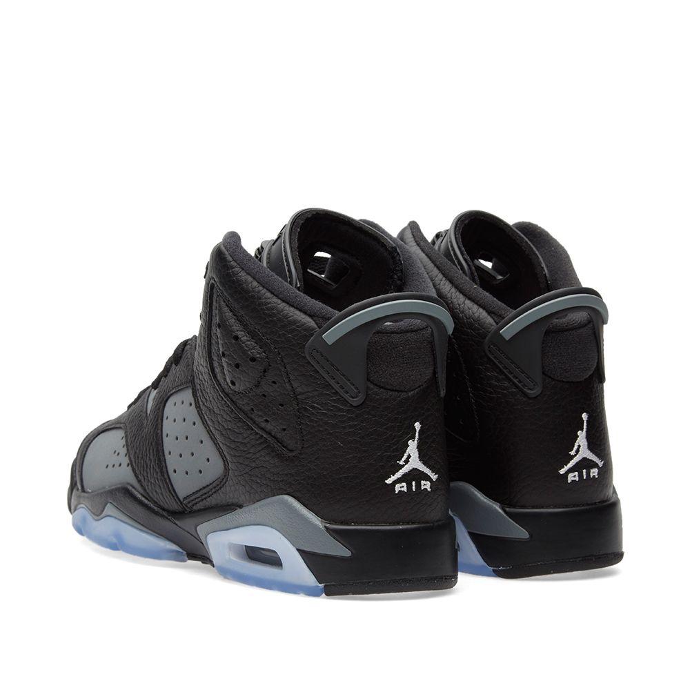 afd959124732e2 Nike Air Jordan 6 Retro BG Black