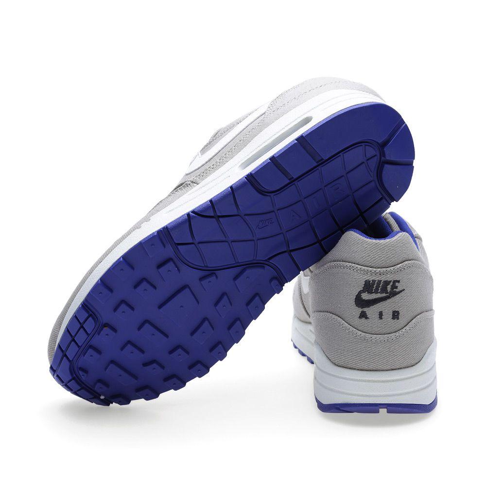 9929cda476d8 Nike Air Max 1 Premium Denim Classic Stone   Hyper Blue