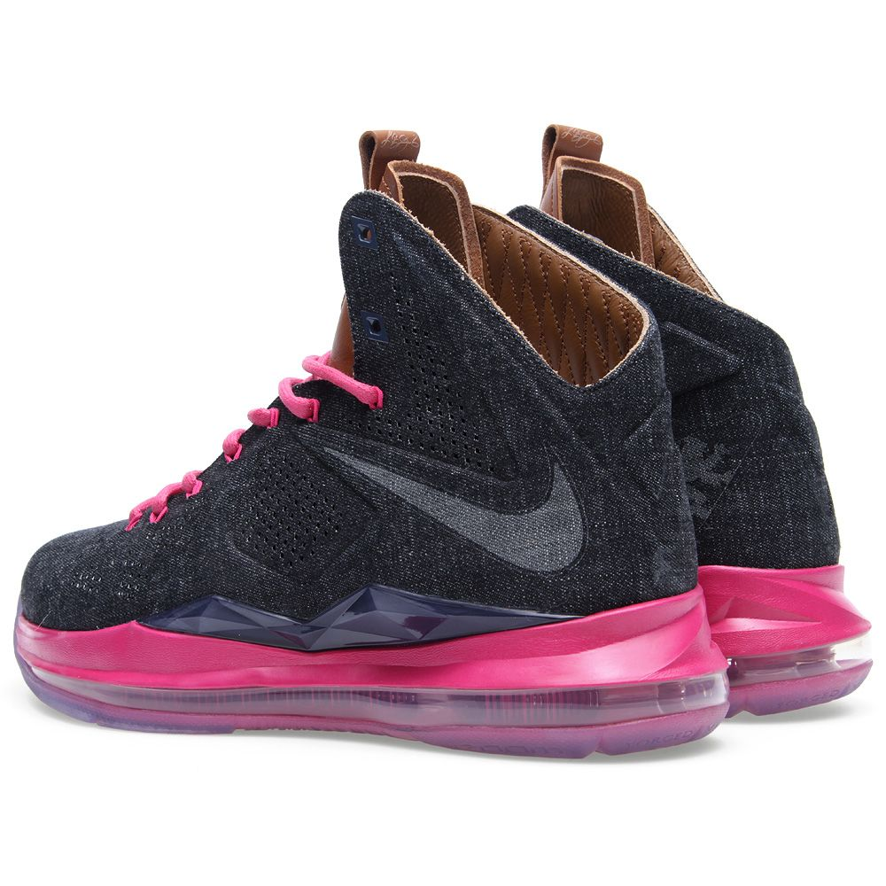 meet 78d8b b9fff Nike LeBron X EXT Denim QS Midnight Navy   END.