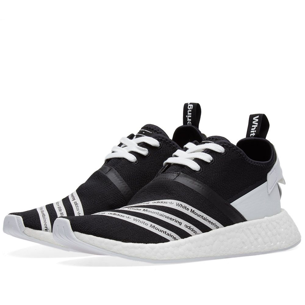 84c7e61fe Adidas x White Mountaineering NMD R2 PK Core Black   White