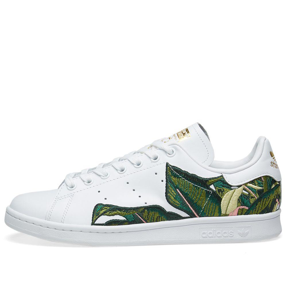 huge discount afdf8 a0044 Adidas Stan Smith W. White  Metallic Gold