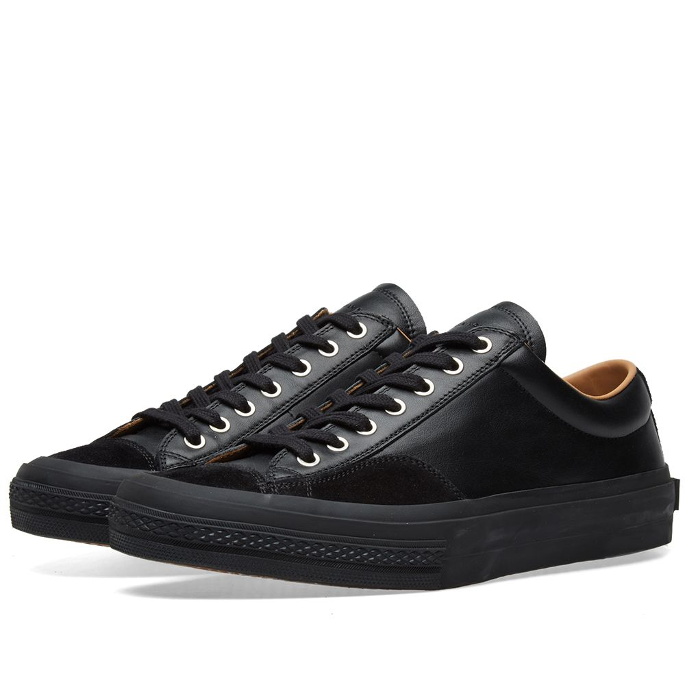 c0e20df9d97 Dries Van Noten Leather Sneaker Black