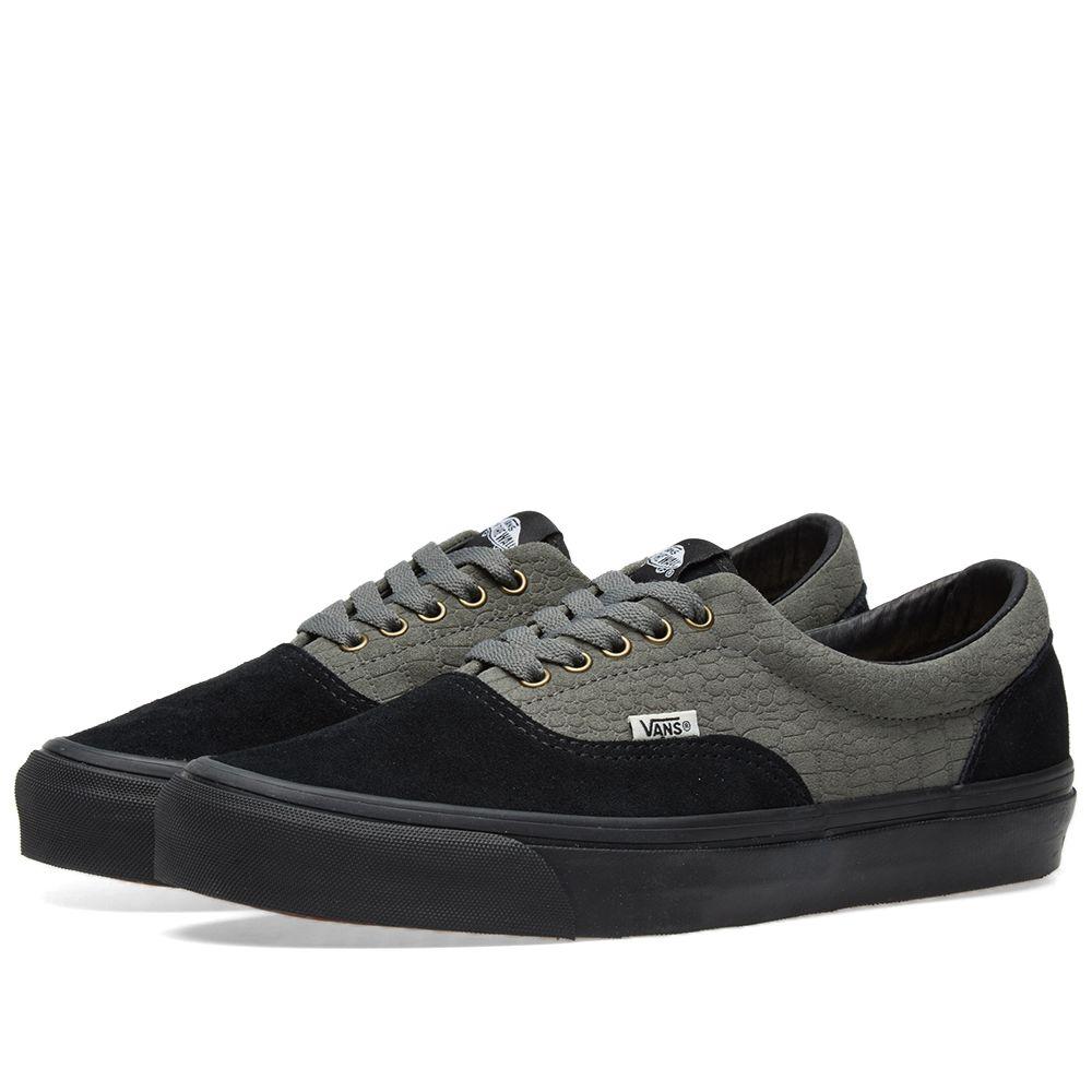 00084ea4030172 Vans Vault x WTAPS OG Era LX Black Croc