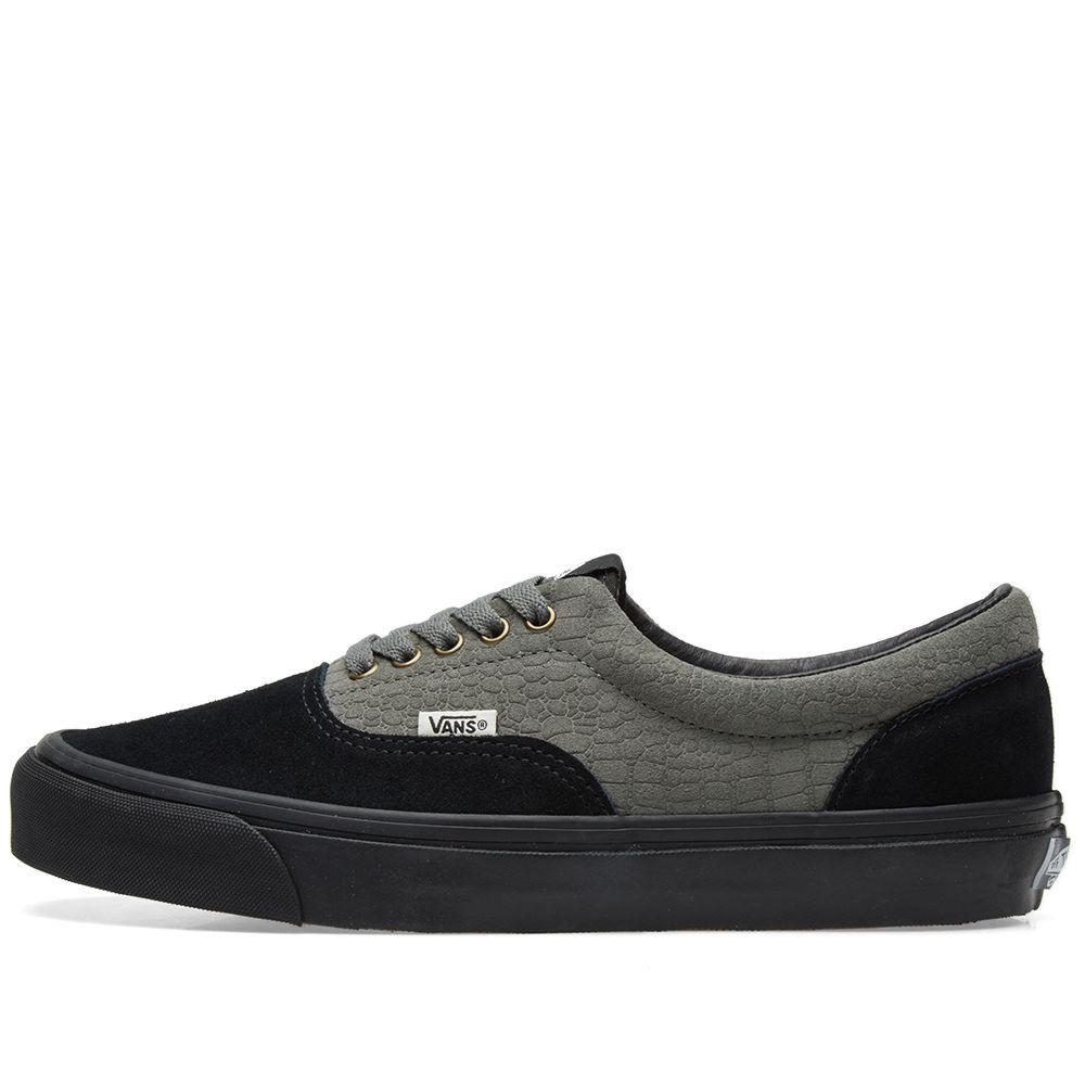 dd92f6cf57 Vans Vault x WTAPS OG Era LX Black Croc