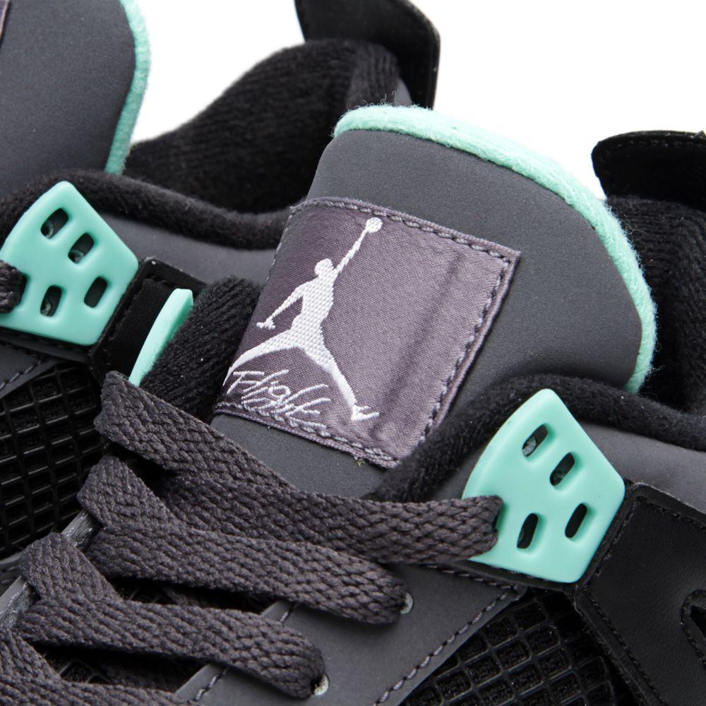 5e7f3cf74db5ba homeNike Air Jordan IV Retro  Green Glow  (GS). image. image. image. image.  image. image