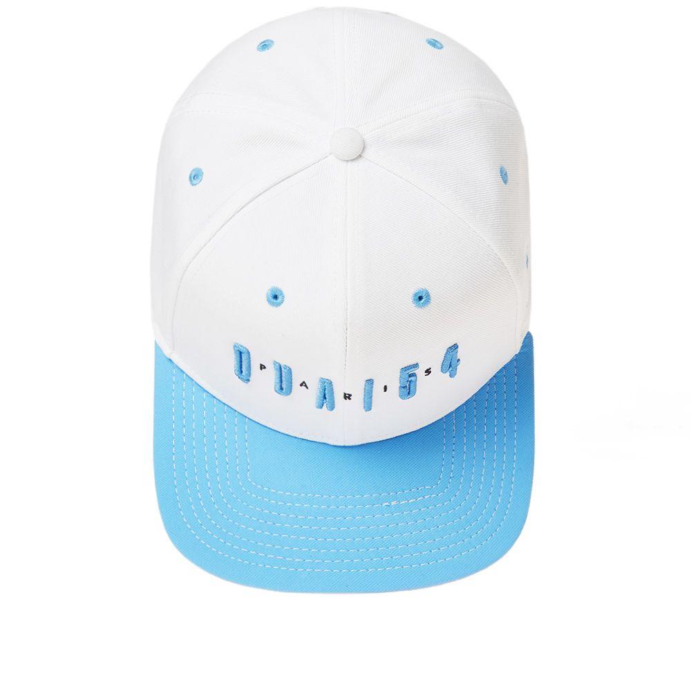 65fe524245b Air Jordan Snapback  Quai 54  White   University Blue