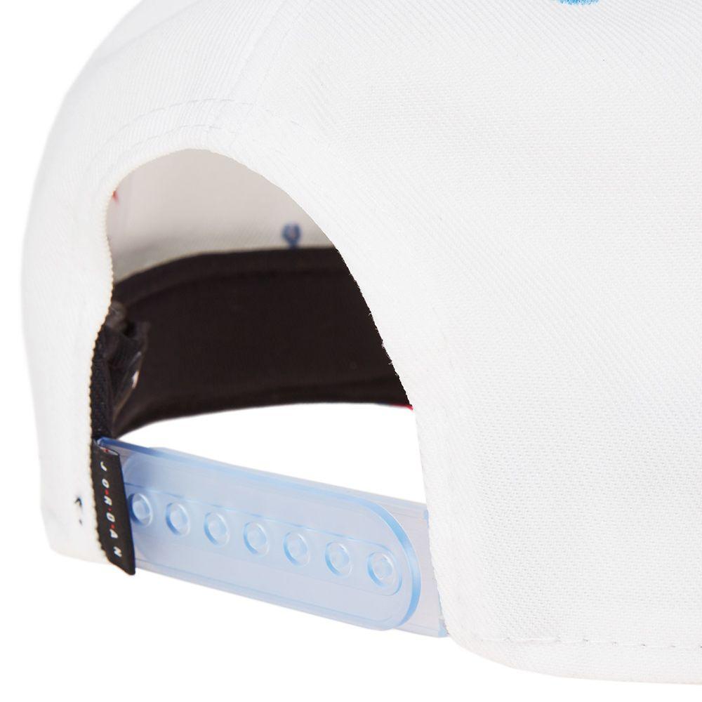 6272dde17b7 Air Jordan Snapback  Quai 54  White   University Blue