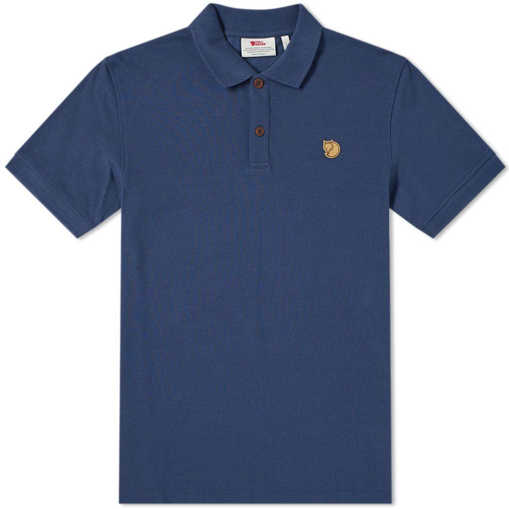 baa719f02cff4 Fjällräven Övik Polo Shirt Navy