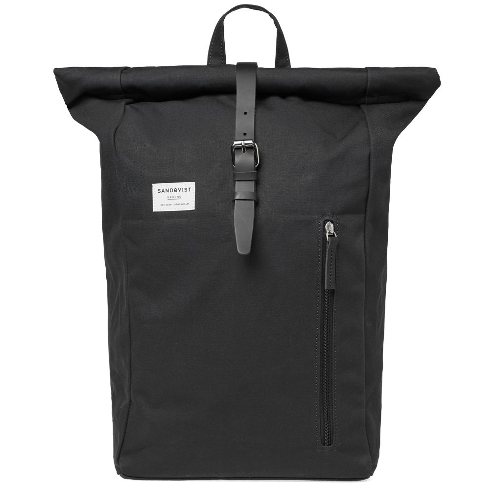 Sandqvist Dante Rolltop Backpack Black End